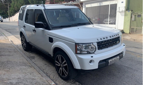 Land Rover Discovery 4 3.0 Black And White 2011