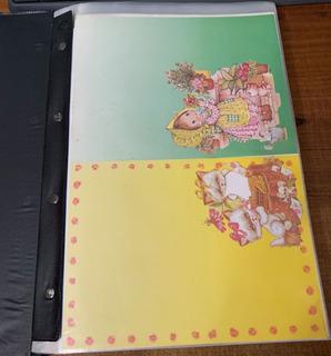 Pasta Coleção Papel Papéis De Carta Antigo Cartiuge