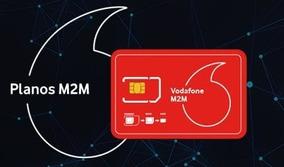 Chip M2m Ilimitado Vodafone Para Rastreadores E Alarmes