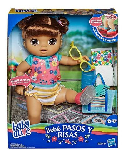 Muñeca Baby Alive Risas Y Pasos Castaña - Giro Didáctico