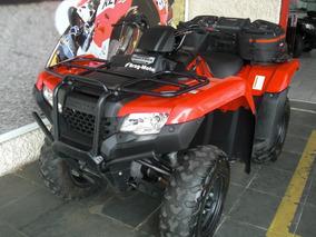 Honda Quadriciclo Trx 420 Fm 4x4 Un Dono 2015 952 Km