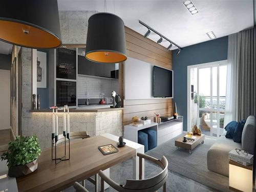 Apartamento, 2 Dorms Com 96.33 M² - Forte - Praia Grande - Ref.: Mmar31 - Mmar31