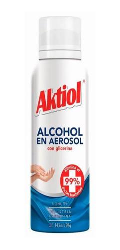 Alcohol Spray Aerosol Aktiol Desinfectante 143m. 1 Unidad.