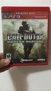 Juego Ps3 Call Of Duty 4 Modern Warfare Fisico Original