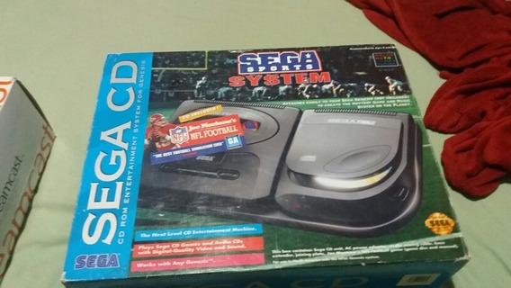Sega Cd Sports Edição Limitada Na Caixa