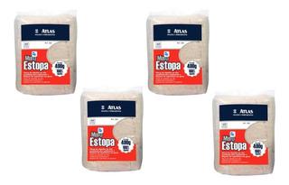 Kit Com 4 Pacote Estopa Limpeza 400g Atlas