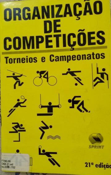 As# Livro Organização De Competições Torneios E Campeonatos