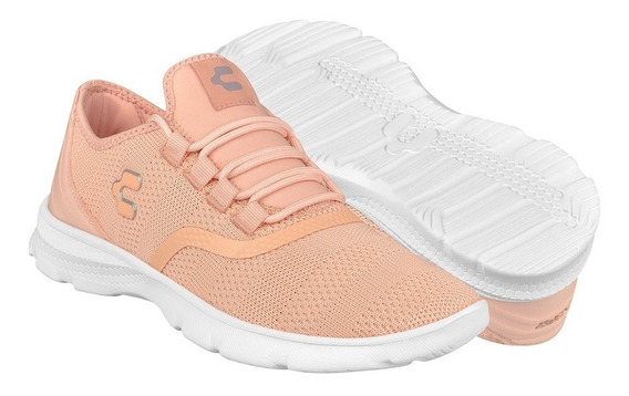 Tenis Casuales Para Dama Charly 1049283 Rosa