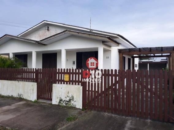 Casa À Venda, 135 M² Por R$ 280.000,00 - Areias Brancas - Balneário Arroio Do Silva/sc - Ca1156