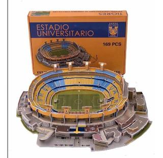 Rompecabezas 3d Estadio Universitario, Tigres Uanl