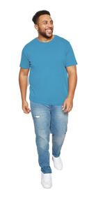 Kit 3 Camiseta Plus Size Masculina Camisa Xg G1 G2 G3 Oferta