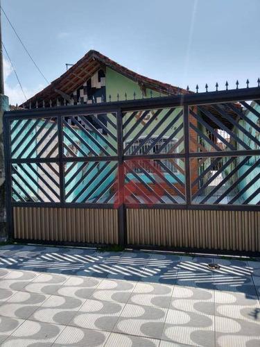 Imagem 1 de 13 de Casa Com 2 Dormitórios À Venda, 92 M² Por R$ 280.000,00 - Maracanã - Praia Grande/sp - Ca0232