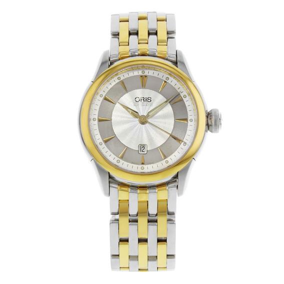 Reloj Oris Artelier Acero Dos Tonos Mujer 56176044351mb