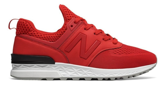 Zapatillas New Balance Ms574tmy Urbanas Rojo