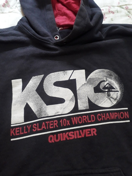 Blusa Moletom Quiksilver Kelly Slater Word Champion Original
