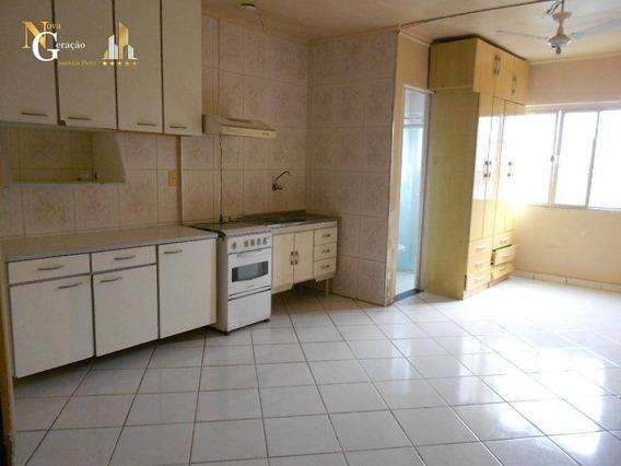 Kitnet Com 1 Dormitório À Venda, 30 M² Por R$ 110.000 - Cidade Ocian - Praia Grande/sp - Kn0304