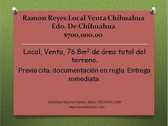 Plaza La Sierra, Local En Venta, Chihuahua, Chihuahua México