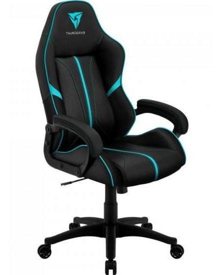 Cadeira Gamer Profissional Air Bc-1 En61867 Preta/ciano Thun