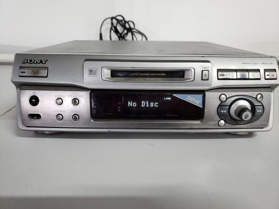 Md Sony Minidisc Deck Mds-s41 - No Estado