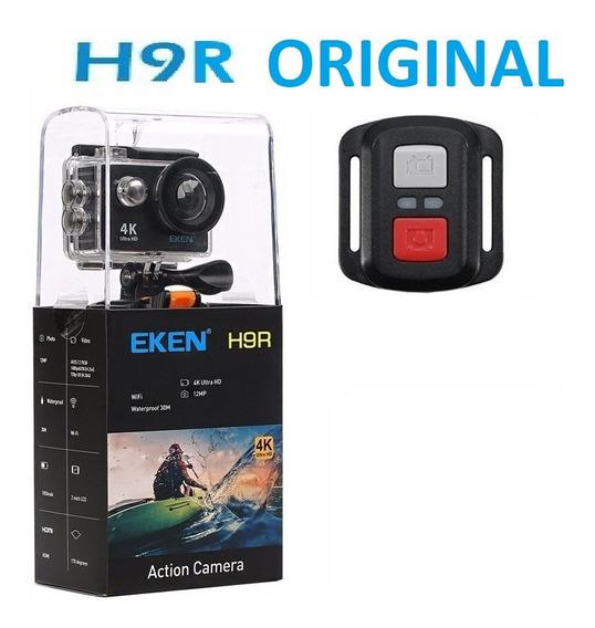 Eken H9r Wifi Fullhd 4k Com Acessórios Nova Com Garantia Mais Cartão 32gb De Brinde