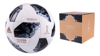 Pelota De Fútbol adidas Telstar Mundial Rusia / Stgo. Boxer