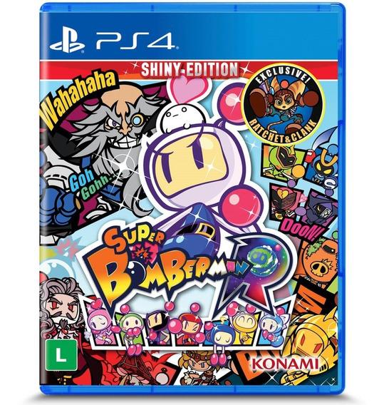 Super Bomberman R - Ps4 - Mídia Física