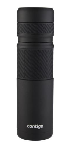Imagen 1 de 3 de Termo Contigo 2070897 de acero inoxidable 1.2L negro
