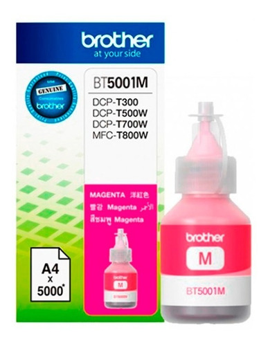 Tinta Brother Magenta 50ml Dcp-t300, Dcp-t500w, Dcp-t700w