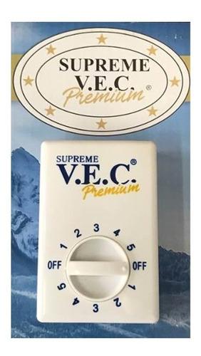 Imagen 1 de 3 de Control Para Ventilador De Techo 5 Vel Supreme Vec 961