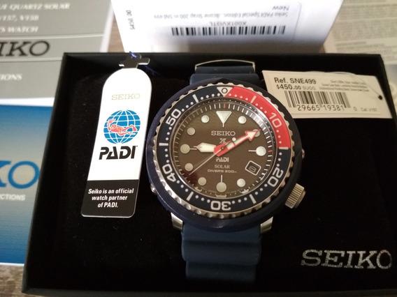 Reloj Seiko Padi Special Edition Prospex Solar Diver Sne499