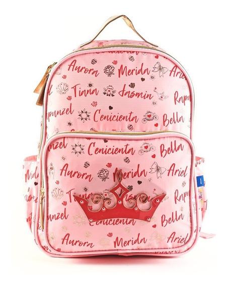 Mochila Princesas Corona Espalda 16