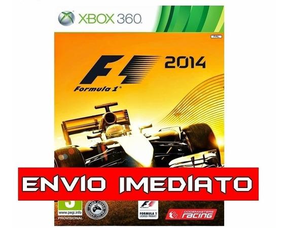 F1 - Formula 2014 Xbox 360 - Mídia Digital