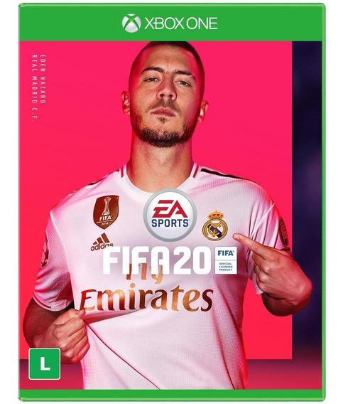 Fifa 20 Xbox One Br Mídia Física Lacrado + Pôster De Brinde