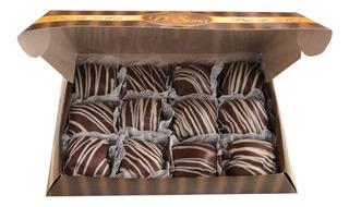 Caixa De Pão De Mel Mousse Com 12 Unidades