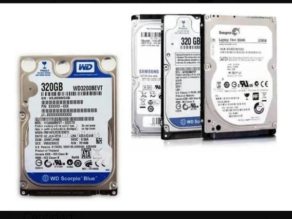 Disco Duro 320gb Escaneado Como Nuevos Dvr Pc Laptop Ps3