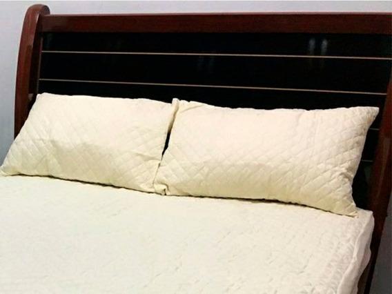 02 Protetores Impermeável Travesseiro Matelado Ultrassônico