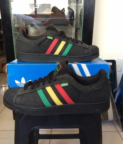 adidas Hemp (superstar) Rasta Único No Mercado Livre