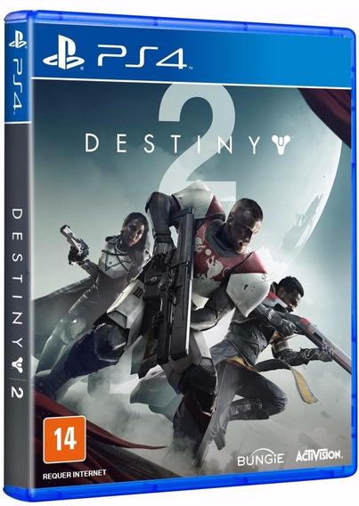 Destiny 2 - Dublado E 100% Portugues - Midia Fisica Original E Lacrado - Ps4