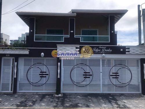 Sobrado De Condomínio Com 2 Dorms, Caiçara, Praia Grande - R$ 259 Mil, Cod: 8241 - V8241