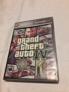 Grand Theft Auto Iv - Caja De Juego X Box 360