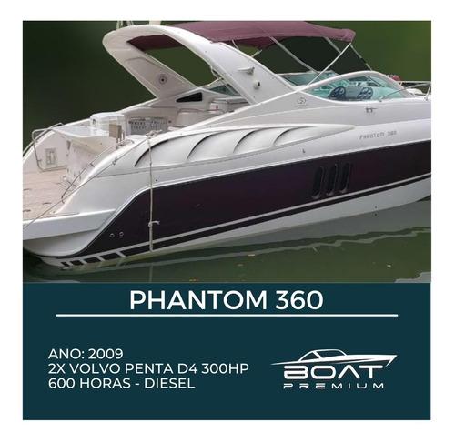 Phantom 360, 2009, 2x Volvo Penta D4 300hp - Cranchi - Axtor