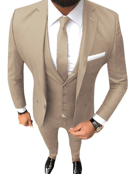Trajes Hombre Satinados Entallado Con Zapato Camisa Corbata