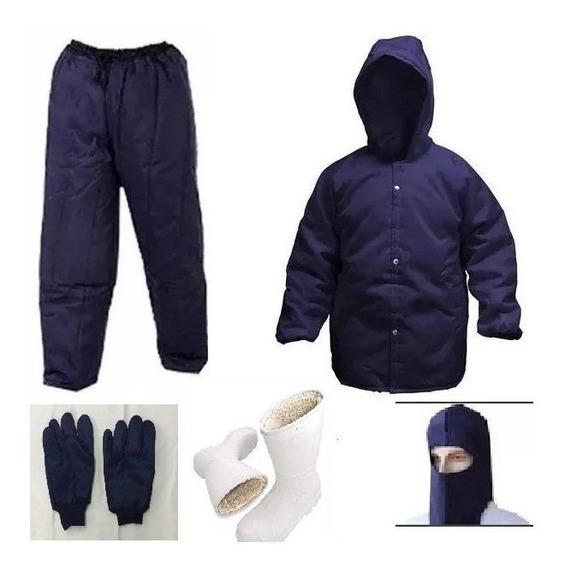 Uniforme Para Câmara Fria Epi-japona,calça,luva,bota,capuz