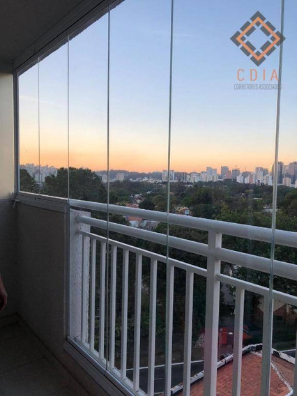 Studio Com 1 Dormitório, 31 M² - Venda Por R$ 405.000 Ou Aluguel Por R$ 1.850/mês - Alto Da Boa Vista - São Paulo/sp - St0057