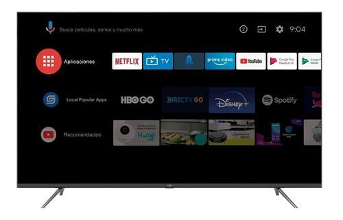 Imagen 1 de 9 de Televisor Kalley 55 Pulgada Atv55uhd 4k Led Smart Tv Android