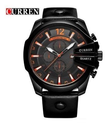 Relógio Masculino Curren Original Luxo Frete Grátis Barato