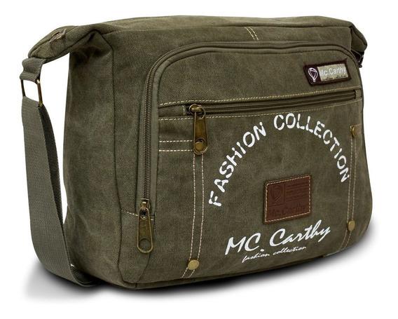 Portafolio Cruzado Mc. Carthy Mod. Mc-9 Verde