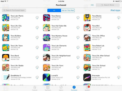 Imagem 1 de 5 de Jogos Apple Store