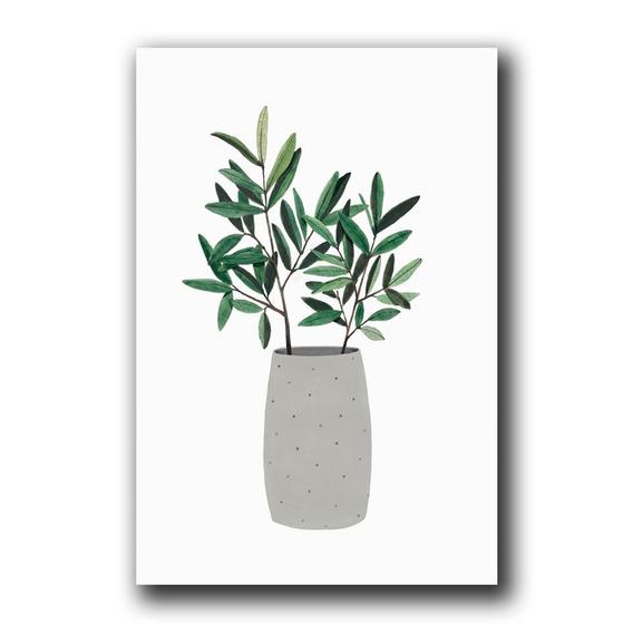 Placa Decorativa Para Casa Planta Decoração Mdf