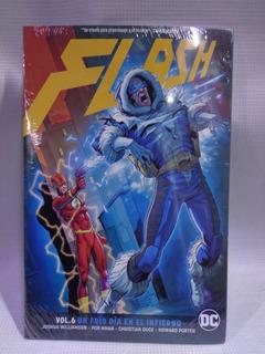 Flash Vol.6 Un Frio Dia En El Invierno Televisa Dc Tpb